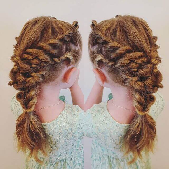 A Double Combined Goldfish Braid