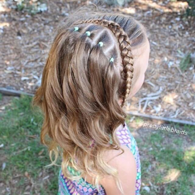 Galaxy Girl Easy Braid
