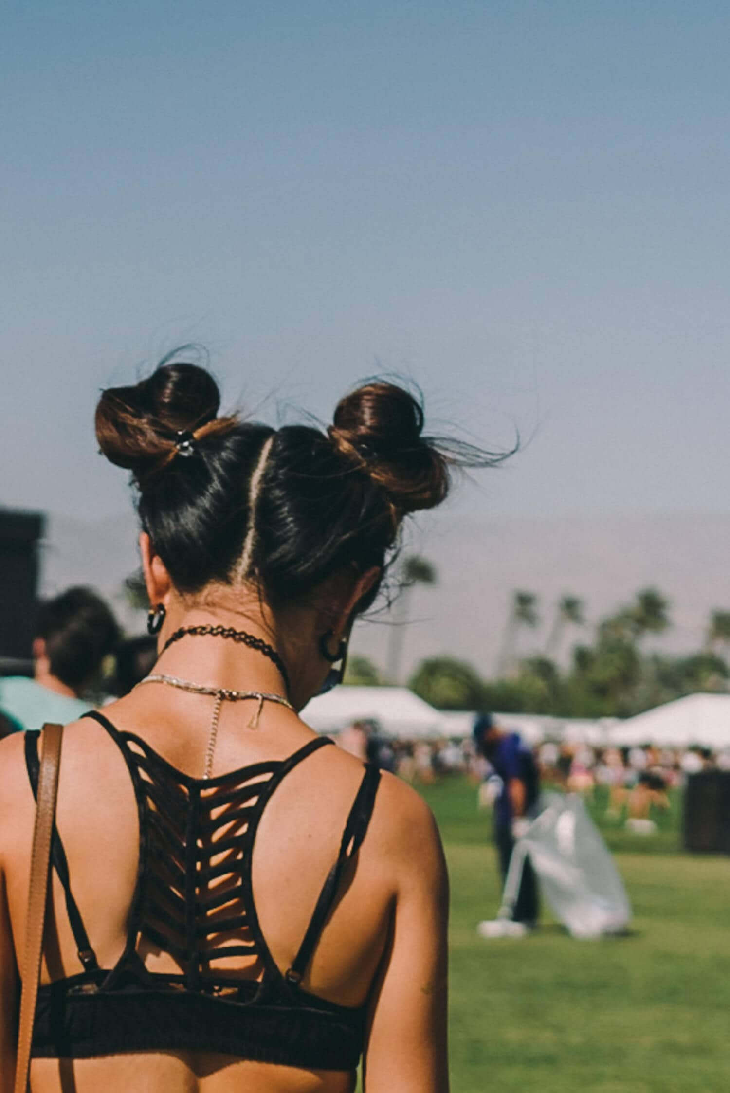 Pigtail Buns for the Festival Queen