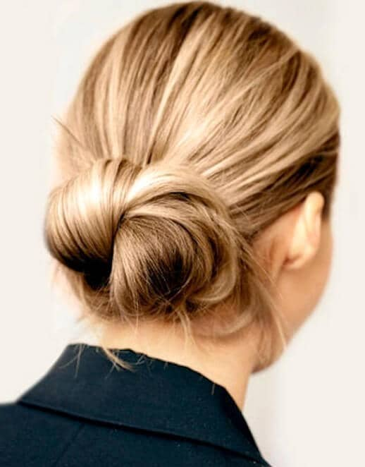 The Perfect Bun for a Busy Workday