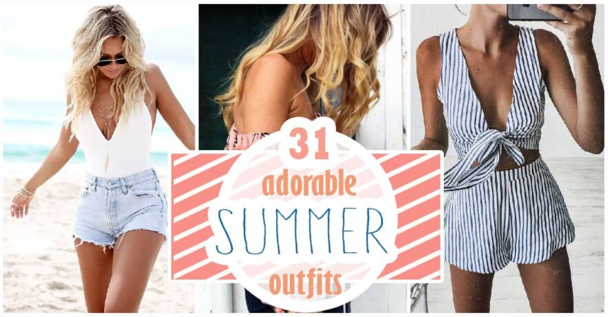 c9e6c25870e 31 Adorable Summer Outfit Inspirations