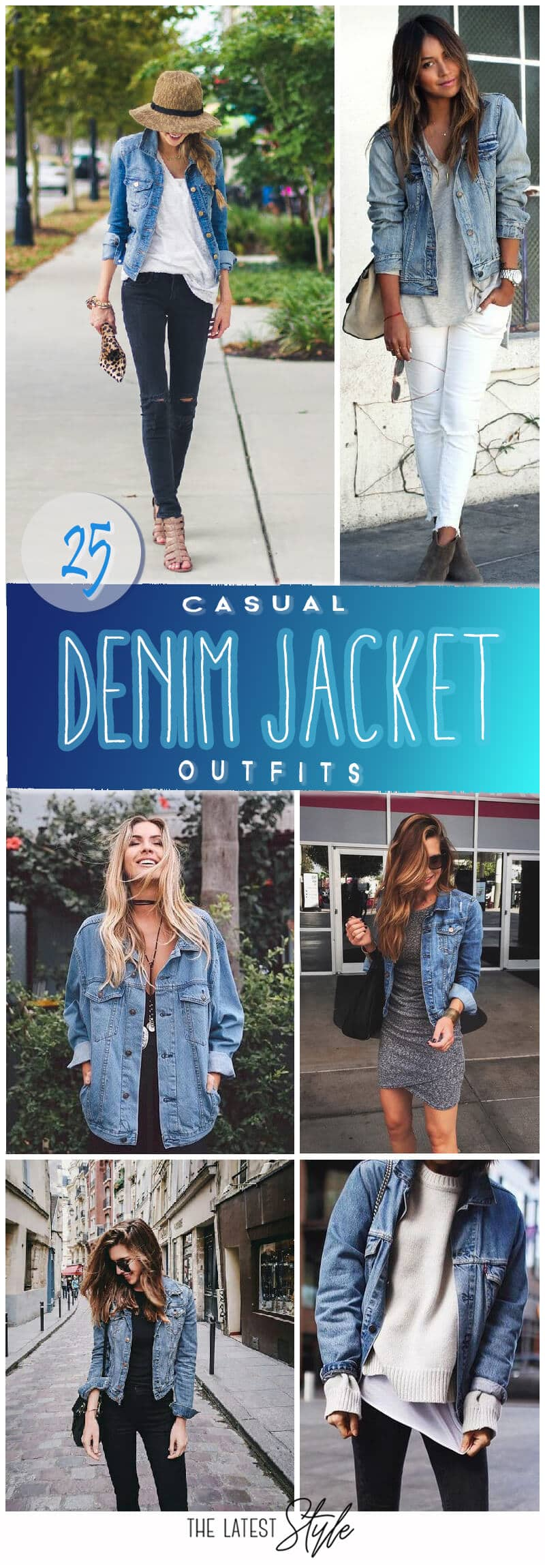 25 Casual Denim Jacket Outfits