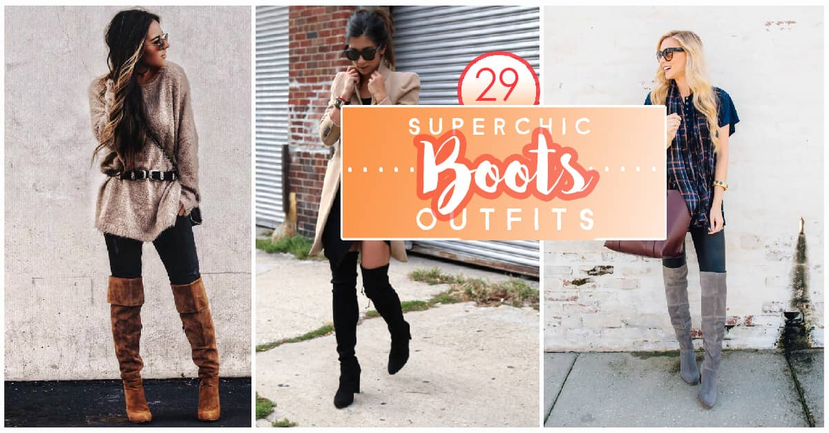 976ad4863cf 29 Super Chic Fall Outfits With Boots