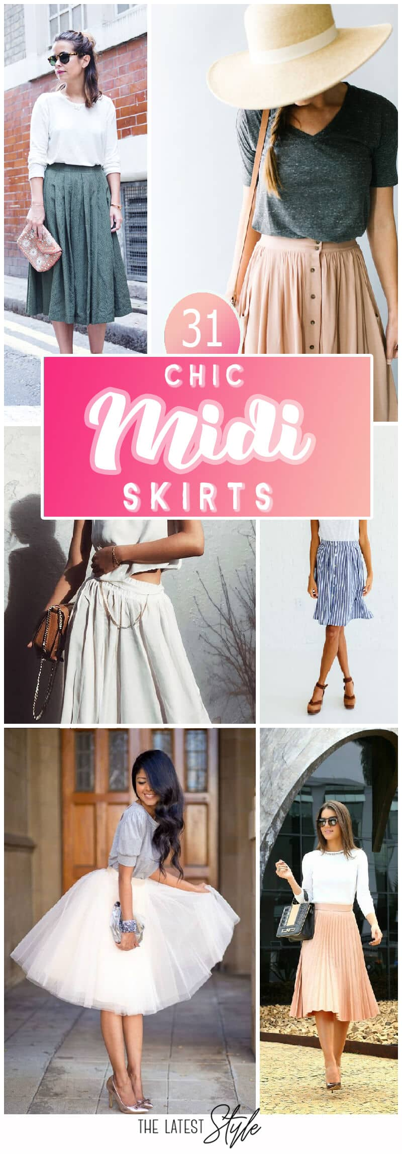 31 Midi Skirt To Copy Right Now