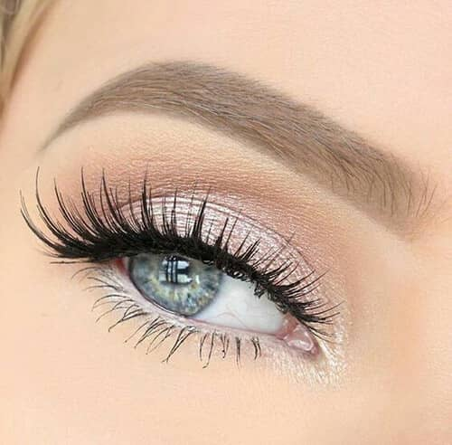 Shimmer Fantasy Eyes with High-def Lashes