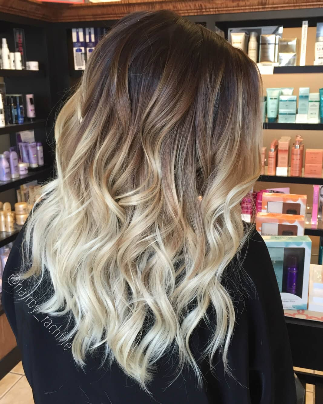 omber hair style 50 proofs that anyone can pull the blond ombre hairstyle 9810