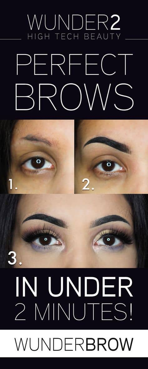 Impeccable Brows in 2 Minutes or Less