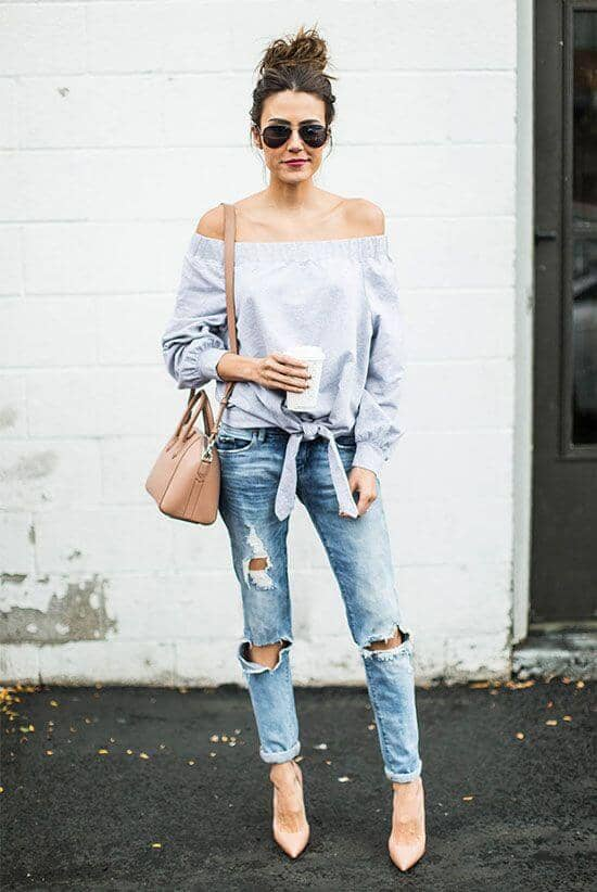 All Things Chambray And Ripped Jeans