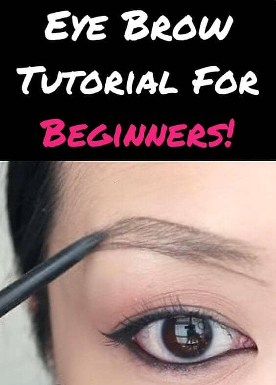 First-Time Eyebrow Makeup Walkthrough