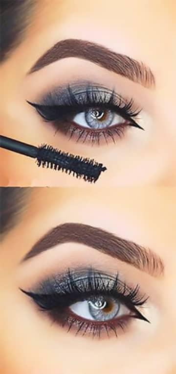 Modern Cleopatra Sapphire Cat Eye