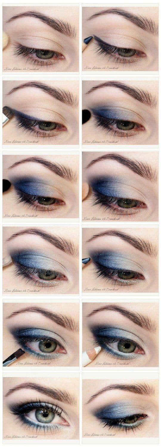 Smoky Blue for Electric Eyes