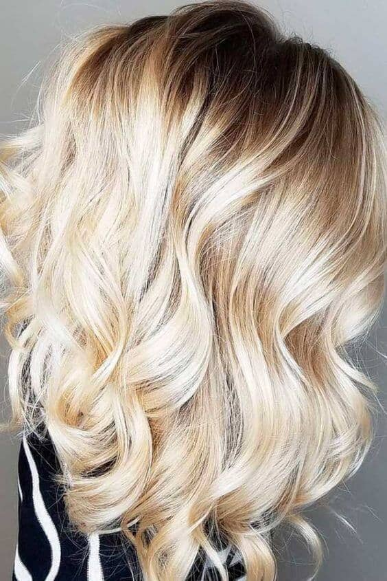 27 pretty blonde ombre hairstyles. Black Bedroom Furniture Sets. Home Design Ideas