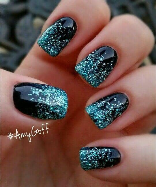 Getting an Ombre Look with Sparkles