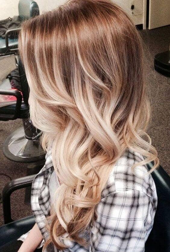Bright Blonde Cute Cowgirl Curls