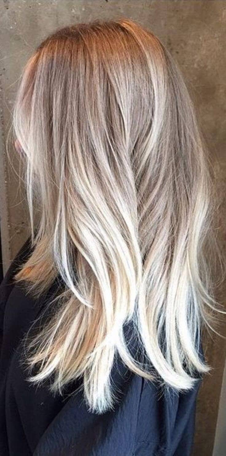 The Perfect Ombre Blonde Hair
