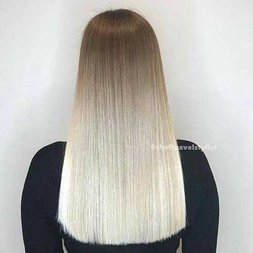 Like, Whoa, Precision Blonde Ombre