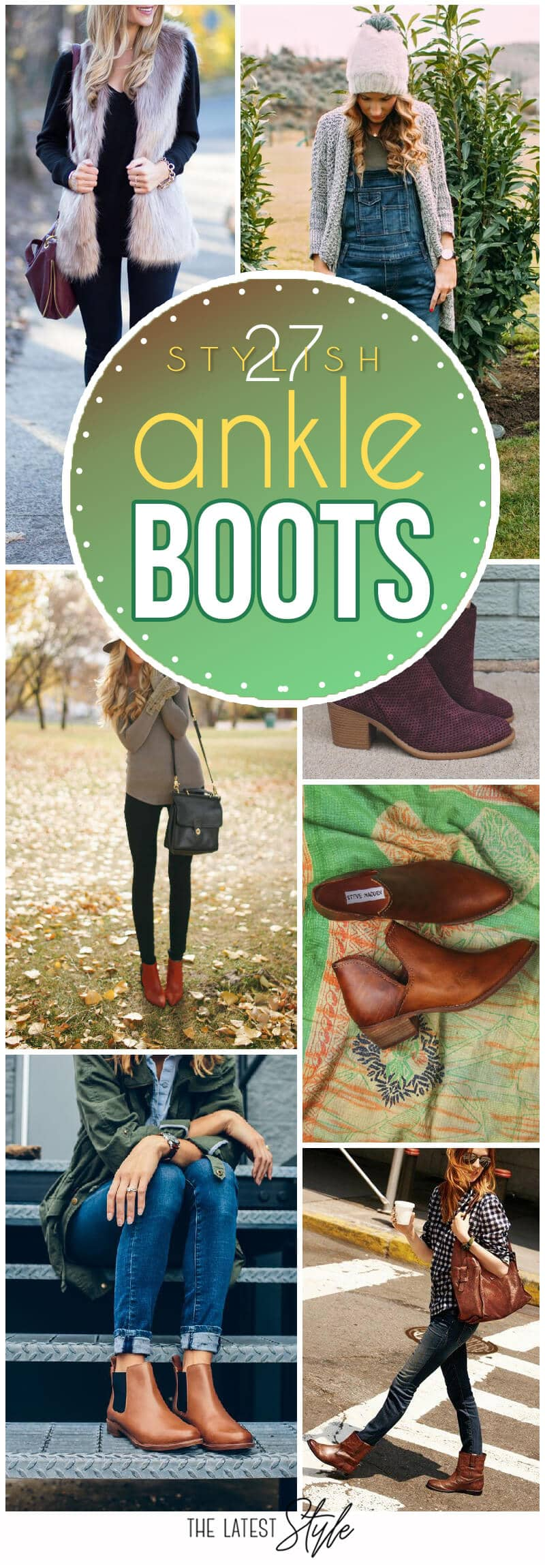 267829f08bae2 25 Ankle Boots Outfits That Are a Must This Fall Season