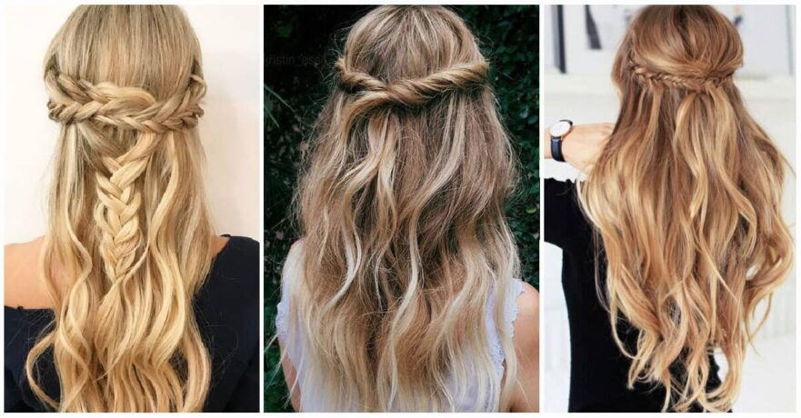 27 Magnificently Gorgeous Half Up Half Down Hairstyles