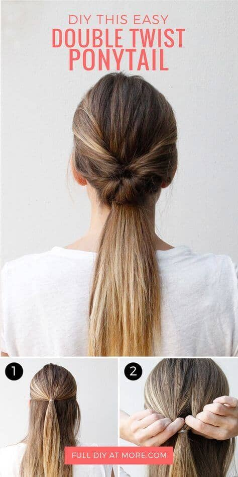 Stupendous 25 Cute Ponytail Tutorials Anyone Can Do Natural Hairstyles Runnerswayorg