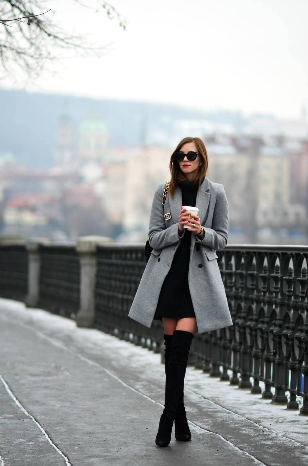 The Perfect Gray Coat