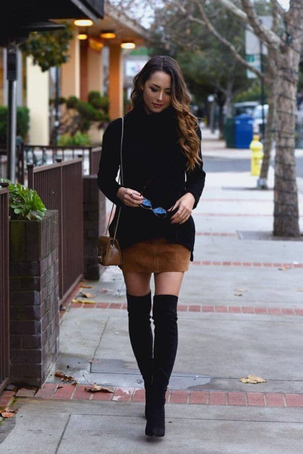 27 Chic Looks For The Turtleneck Fall Outfit