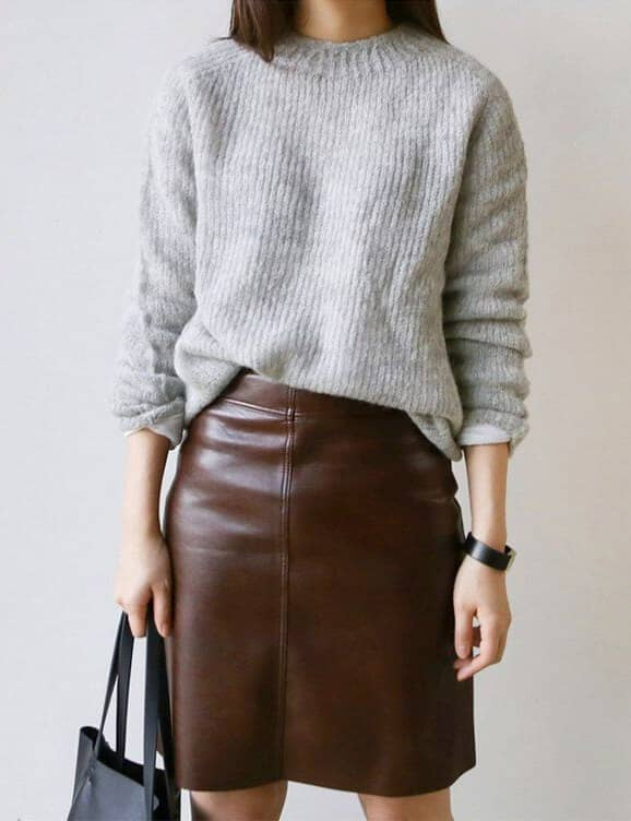Chocolate Brown Work Wardrobe Staple
