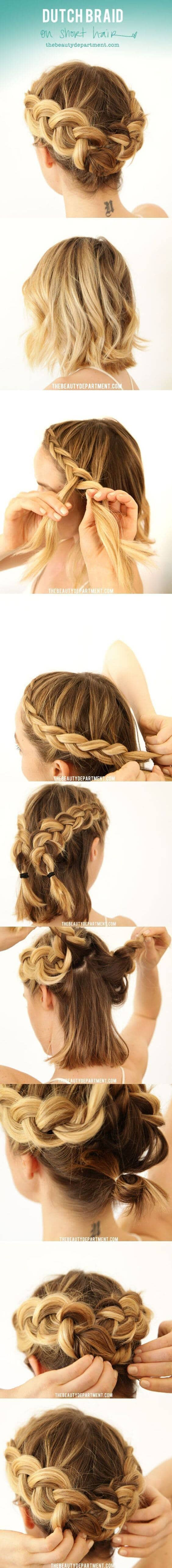Fully Braided Crown Tutorial