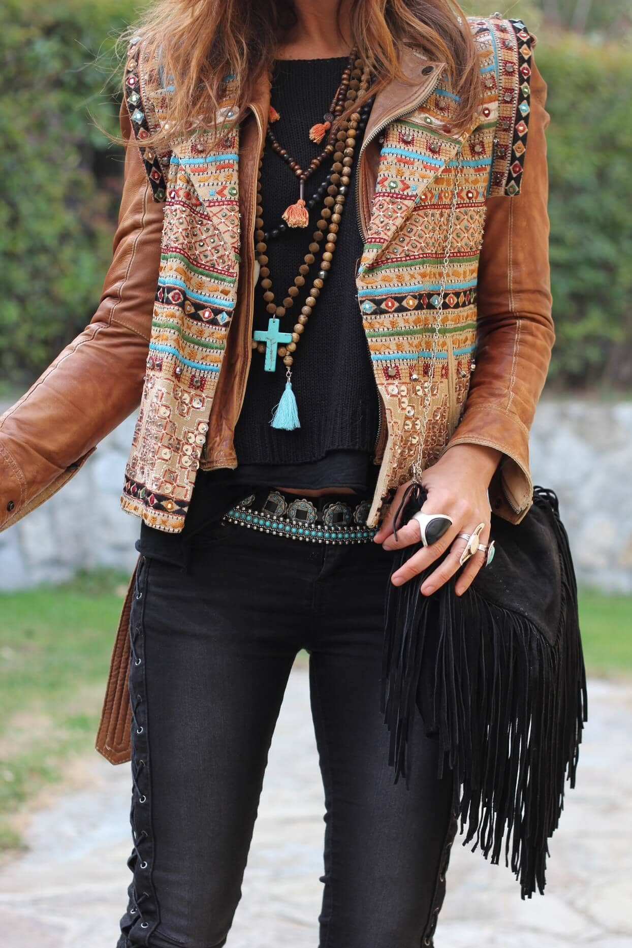 All You Need Is Black Fringe