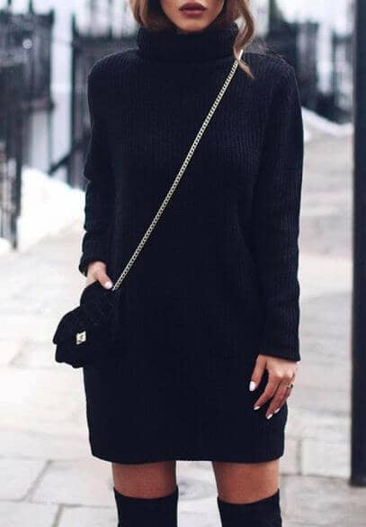 Saucy Black Dress