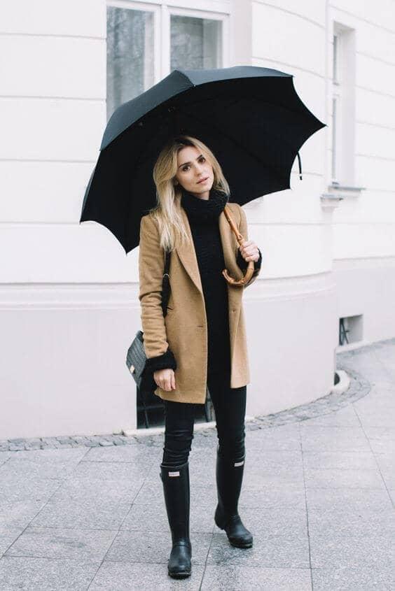 Short Coat and Winter Blacks