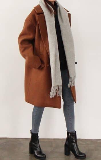 Tight Clothes Under Baggy Coat