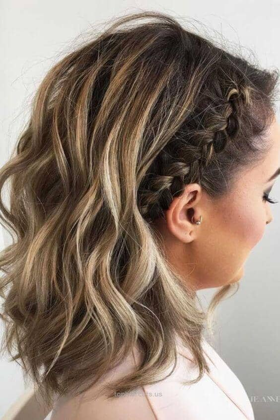 Hair Headband into Waves