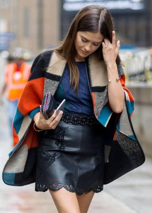 Black Leather Lace