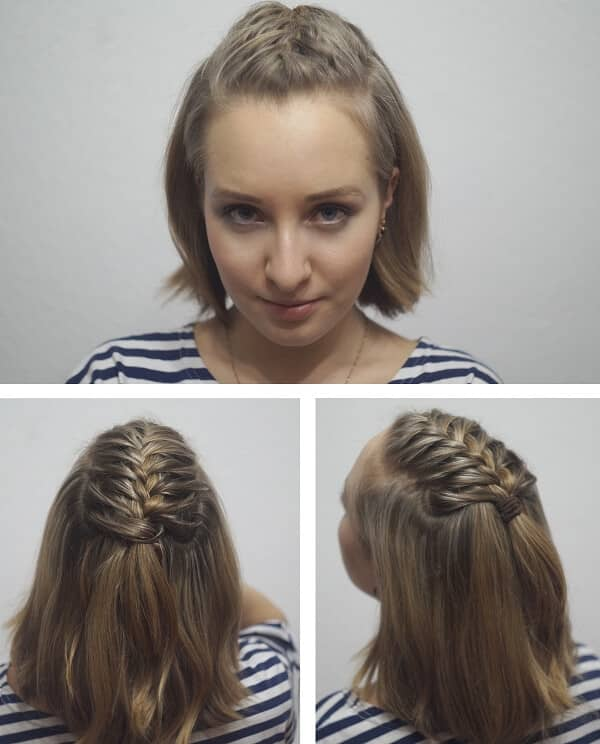 Down the Middle Braid
