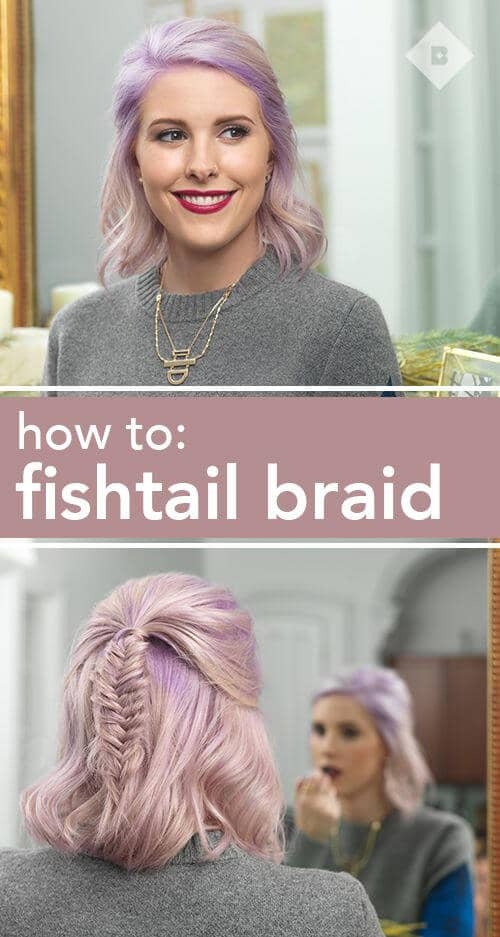 Classic Fishtail for Short Cuts