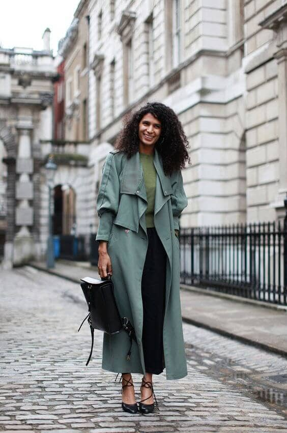How To Style Ankle-length Trenchcoats