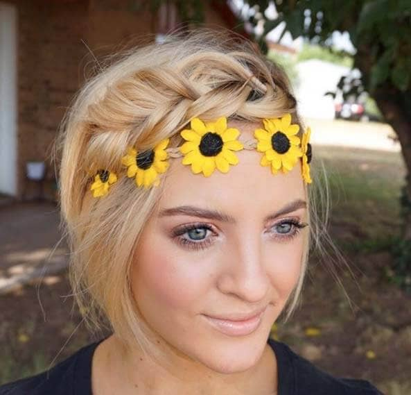 Flower Child Braid with Headband