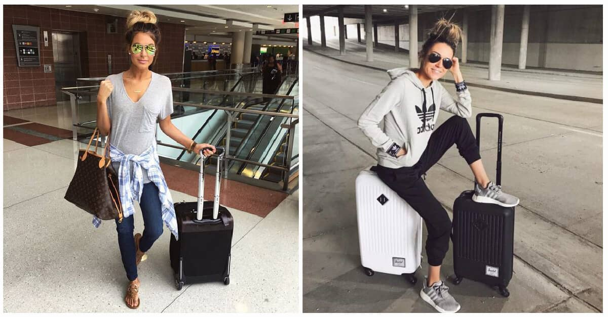 dd56f2e40111 25 Trendy Airport Outfits to Make Traveling More Enjoyable