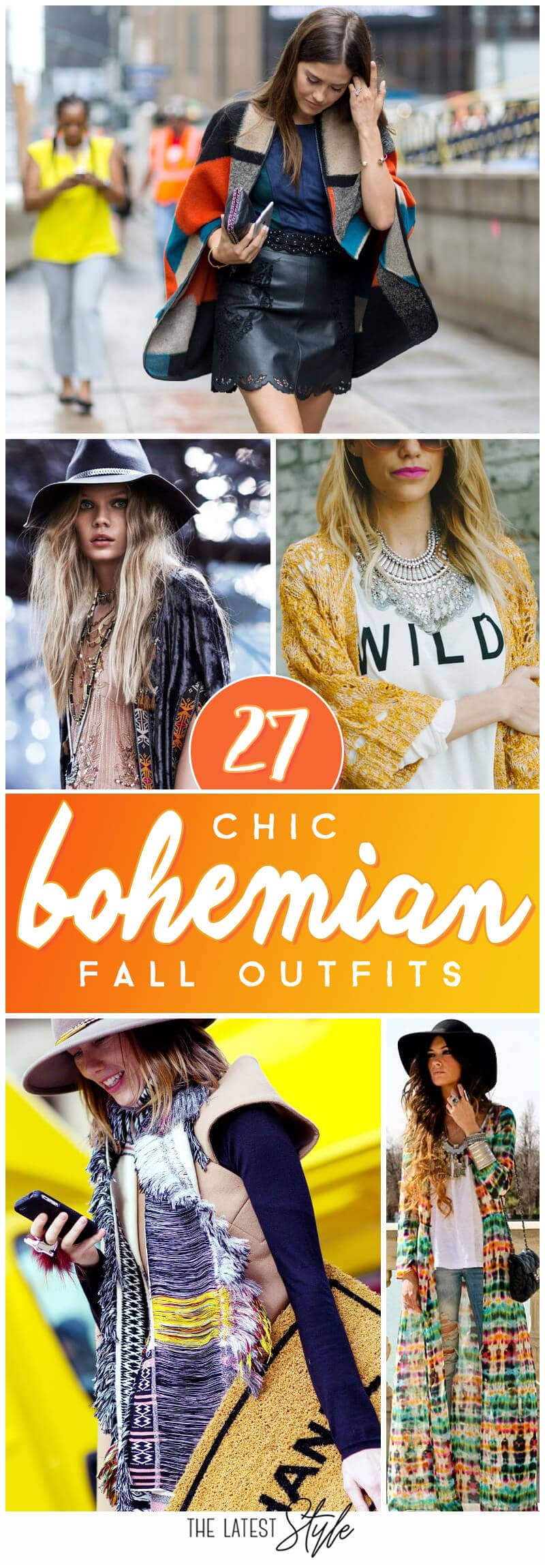 27 Bohemian Fall Outfits That Are On Point This Season