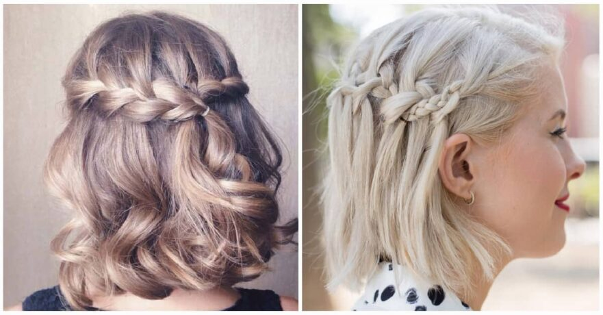 Hair Styles For Short Hair Braids: The Latest Fashion And Style Ideas And