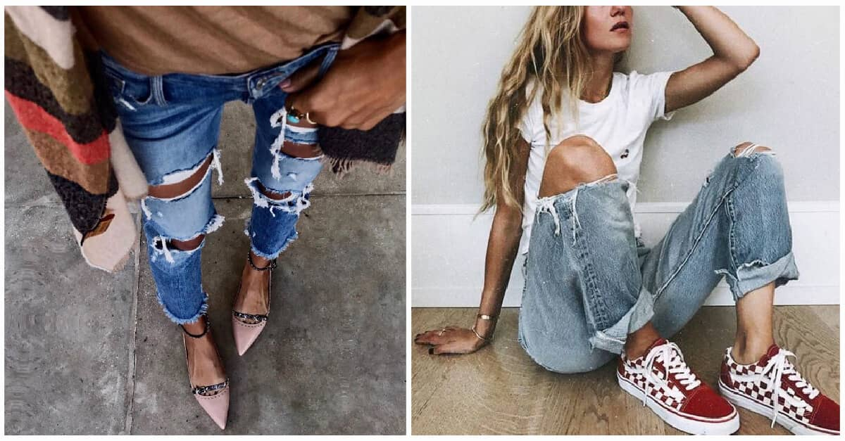 d4a413ed92ec78 25 Ripped Jeans Outfits That Prove Denim Is Here to Stay