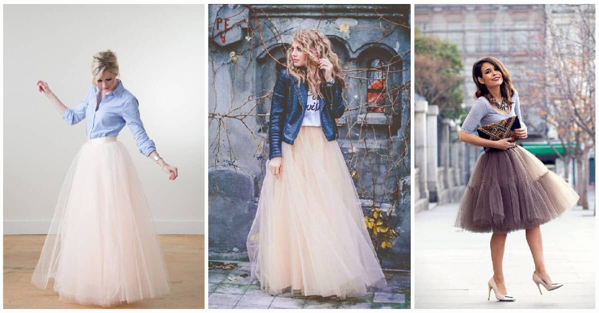 7e6192e3a 31 Tulle Skirt Outfit Ideas You'll Love