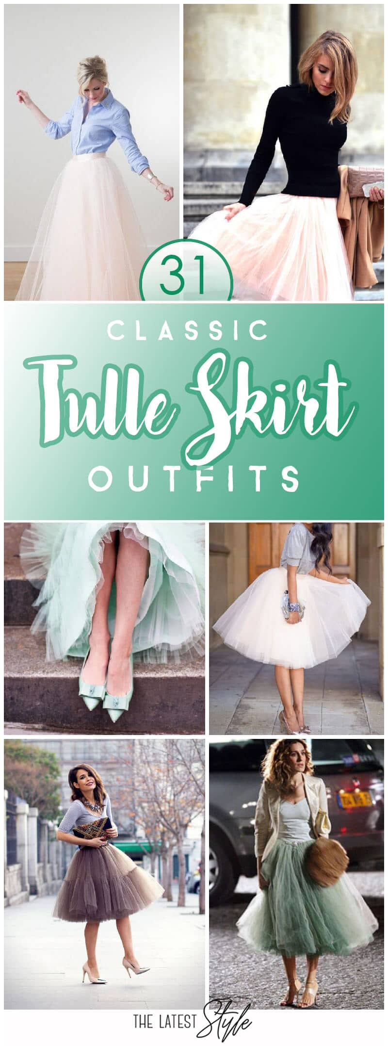 31 Tulle Skirt Outfit Ideas You'll Love