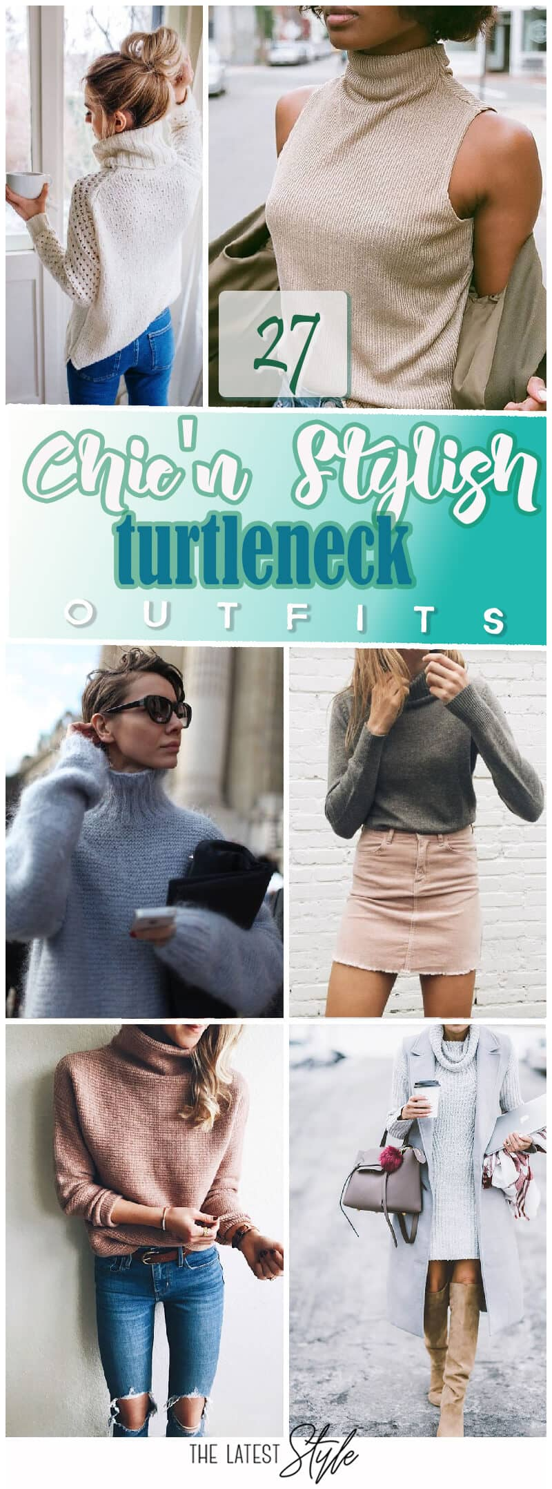 d24781bb06e 27 Chic Looks for the Turtleneck Fall Outfit