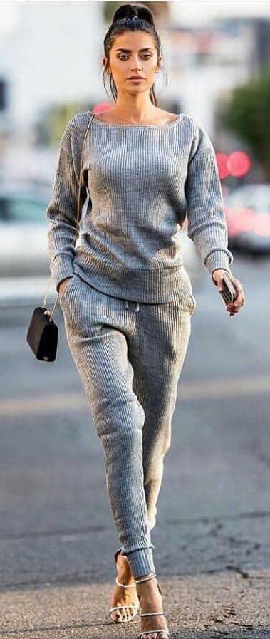 Cozy Yet Sleek Athleisure