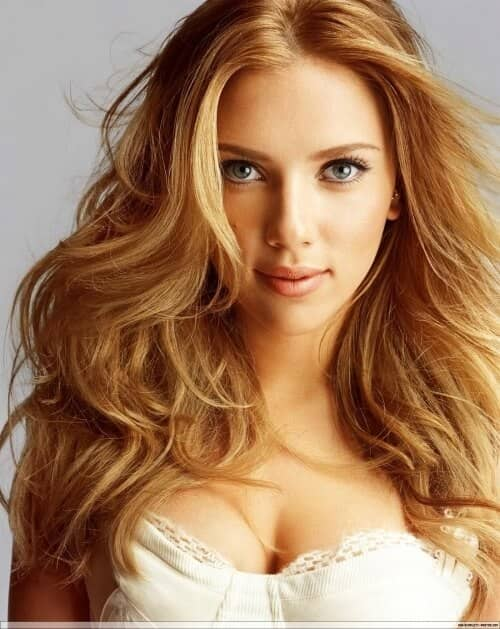Warm Amber Blonde With Reddish Undertones