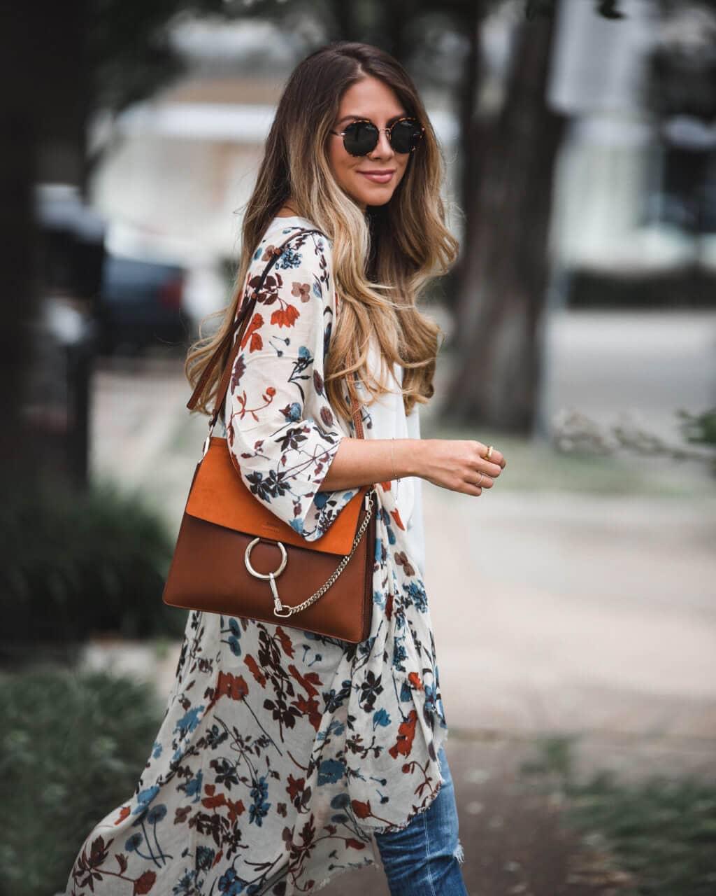 California Casual Kimono Outfit