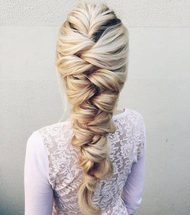 Braid Hairstyles For Wedding Party: 27 Gorgeous Wedding Braid Hairstyles For Your Big Day