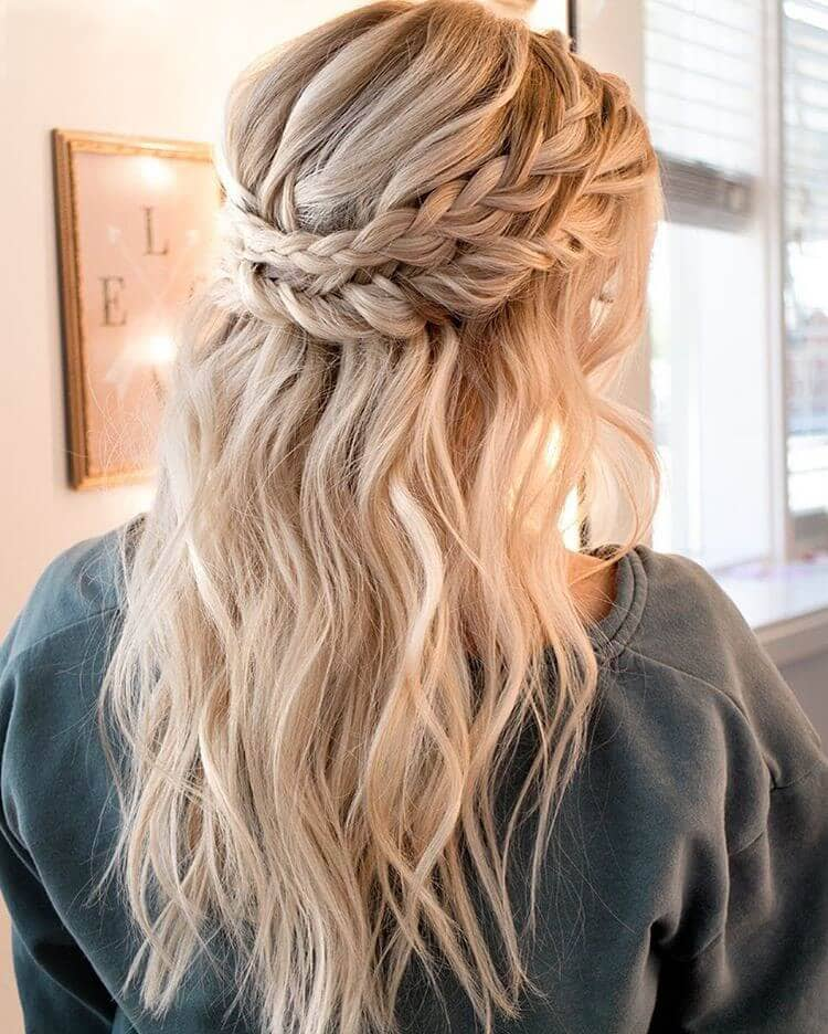 Double Braided Christmas Crown