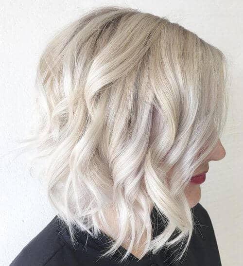 Romantic Medium Length Curls